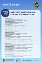 Update Merchant yang Melayani Kartu Jogja Berprestasi (KJB)