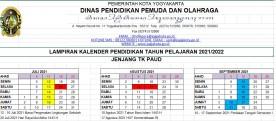 KALENDER PENDIDIKAN TAHUN AJARAN 2021-2022