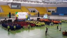 Pembukaan POPDA DIY Tahun 2020 di Among Raga