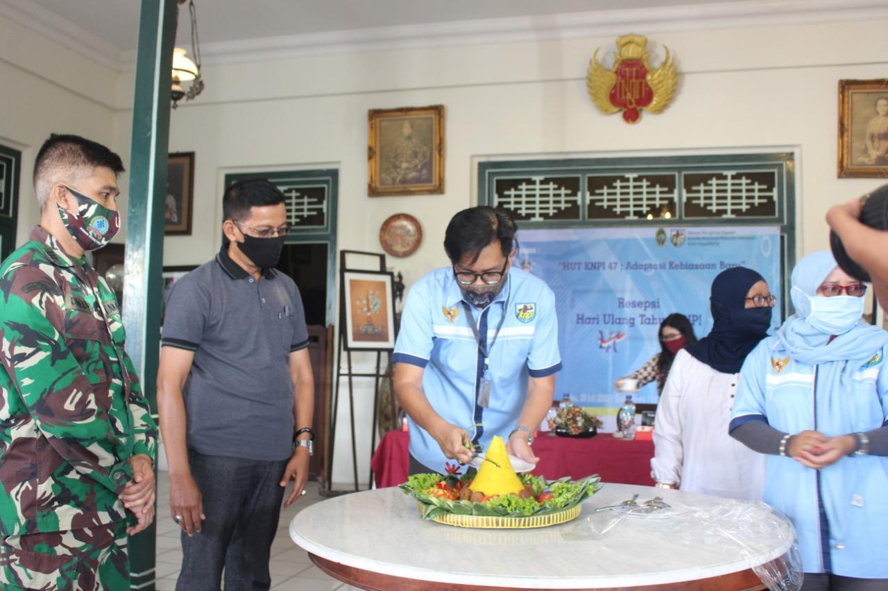 DPD KNPI Kota Yogyakarta menyelenggarakan resepsi HUT KNPI