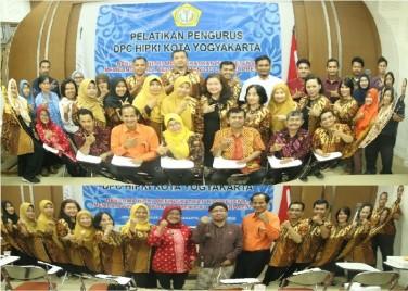 PELANTIKAN PENGURUS DEWAN PENGURUS CABANG (DPC) HIMPUNAN PENYELENGGARA KURSUS DAN PELATIHAN INDONESIA (HIPKI)