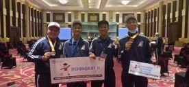 Kontingen GSI SMP Kota Yogyakarta berhasil Menyabet Predikat 30 Besar Pemain Terbaik dalam Ajang Gala Siswa Indonesia Tingkat Nasional